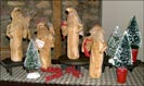 Alta's Heirlooms Santas!!-alta's heirloom, santas, white, collectible, santa claus