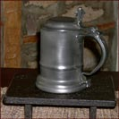 ASL pewter!  Copy of the Bassett Tankard!-pewter, bassett tankard, pitcher, reproduction