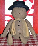 Frederick the Snowman!!-snowman, frederick, plush, winter, christmas