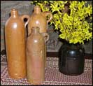 Old German Water Bottles!-old, vintage, german, water bottles, reproduction, antique