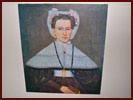 Mrs. Pierce Reproduction Canvas Portrait-mrs pierce, reproduction, canvas, portrait, aging, accessory, colonial