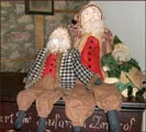 Alta's Heirlooms Santas!-alta's heirlooms, santas, santa claus, christmas, holidays