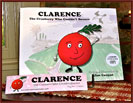 Clarence - The Cranberry Who Couldn't Bounce-children's book, kids, cranberry, story, book, paperback, gift, autographed