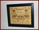 Fraktur by Teresa Hicks - Scatter Kindness-fraktur, teresa hicks, scatter kindness, birds, framed, print, decorative accessory