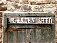 Garden Shed Rake Sign!-garden, shed, sign, rake spring, outdoor decor, primitive