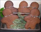 Handmade Gingerbread Men-gingerbread men, cookies, handmade,christmas, seasonal