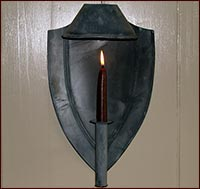 Federal/hooded sconce!-sconce, candle, lighting, early lighting, reproduction, lighting