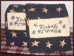 """Kindness Matters""  Towels-towels, kindness, wisdom, inspiration, black, mustard, stars, bargain, bin, sale, kitchen, bathroom,"