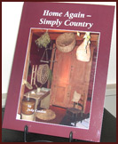 "Judy Condon ""Home Again, Simply Country""-Judy Condon, book, country, series, simply country, home again, shaker, gift, decor"