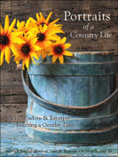 Portraits of a Country Life-judy condon, country life, country home, country decorating