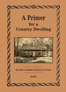 A Primer for a Country Dwelling by Judy Condon-judy condon, A Primer for a Country Dwelling, primitive decorating, decorating book