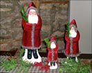 Red velvet belschnickles!!-Belschnickle Santas, red velvet, santa claus, collectibles, christmas