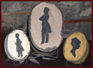 Silhouette Boxes by Hanway Mill House-boxes, primitive, decor, silhouette, ages, antique