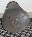 Old Tin Scraper-tin, aged, vintage, old, punched, primitive
