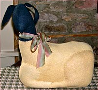 Weighted Wool Sheep-sheep, lamb, wool, spring, easter ewe, primitive